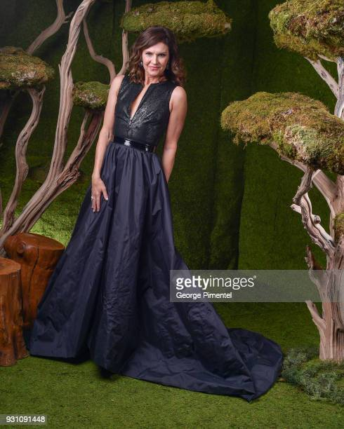 Wendy Crewson poses in the 2018 Canadian Screen Awards Broadcast Gala Portrait Studio at Sony Centre for the Performing Arts on March 11 2018 in...