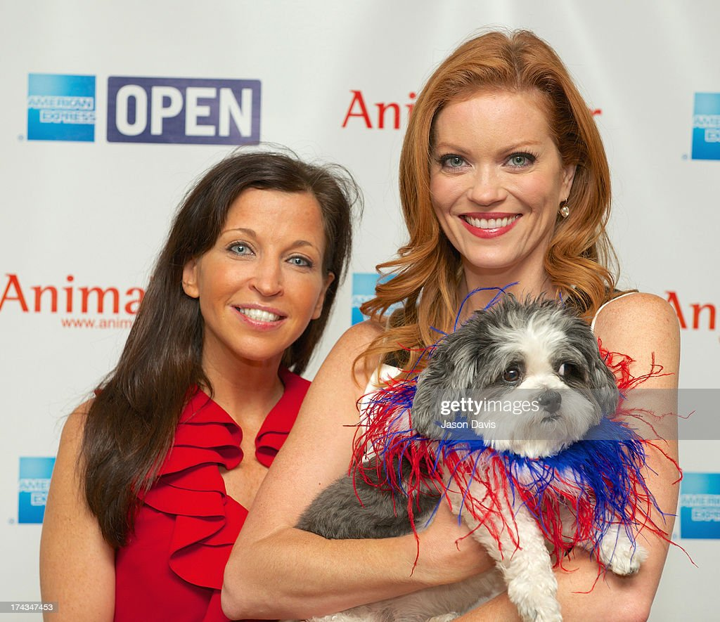 Wendy Diamond and CMT VJ Alecia Davis attend the AnimalFair.com Bark Breakfast Benefiting K9s For Warriors at the Loews Vanderbilt Hotel on July 24, 2013 in Nashville, Tennessee.