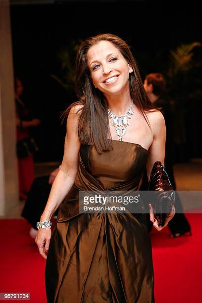 Wendy Diamond arrives at the White House Correspondents' Association dinner on May 1 2010 in Washington DC The annual dinner featured comedian Jay...