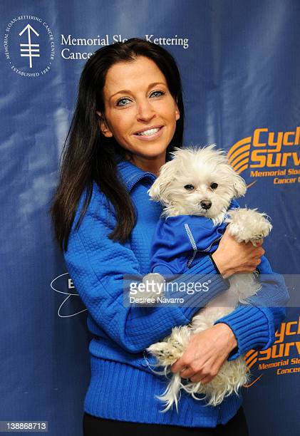 Wendy Diamond attends 2012 Cycle For Survival Day 2 at Equinox Graybar on February 12 2012 in New York City