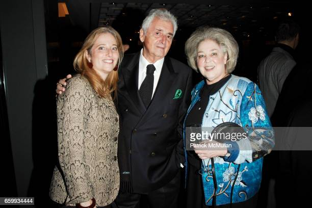 Wendy Eagan Harry Benson and Gale Marcovitz attend ELSA PERETTI Celebrates 35 Years with TIFFANY Co at Tiffany Co on December 10 2009 in New York City