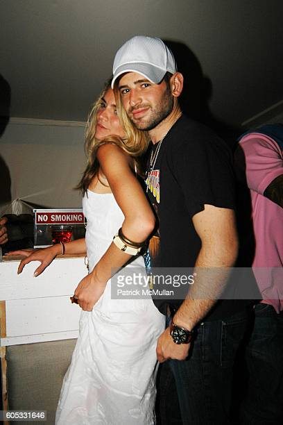 Wendy Gallo and Eugene Remm attend DJ Cassidy and Fonzworth Bentley Host BUNNY CHOW Sunday at CAIN Southampton Club on May 28 2006 in Southampton NY