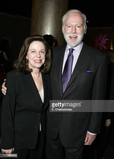 Wendy Goldberg and Leonard Goldberg during Asia Society Southern California Annual Gala Honoring Viacom's Sumner Redstone May 16 2007 at Beverly...