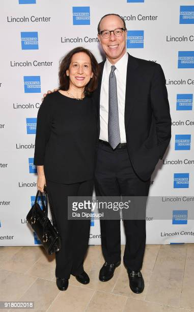 Wendy Goldstein and Robert Goldstein attend the Winter Gala at Lincoln Center at Alice Tully Hall on February 13 2018 in New York City