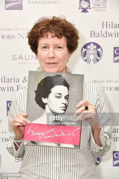 Wendy Goodman attends Authors Night At East Hampton Library on August 11 2018 in East Hampton New York