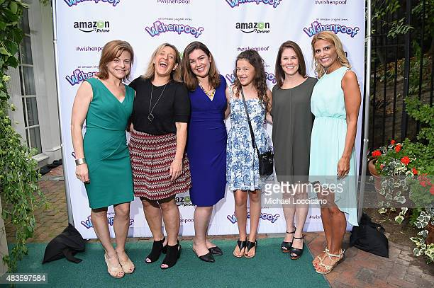Wendy Harris Dr Alice Wilder Monica Dennis Addison Holley Tara Sorensen and Angela Santomero attend the premiere screening event for Amazon Original...