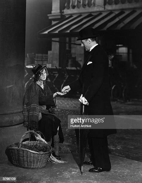 Wendy Hiller and Scott Sunderland star in the film 'Pygmalion', taken from the comic play by George Bernard Shaw. The film was directed by Anthony...