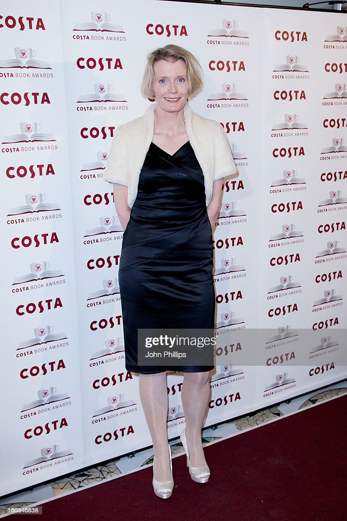Wendy Holden attends the Costa Book of the Year awards at Quaglino's on January 29, 2013 in London, England.