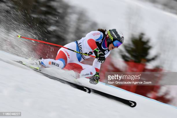 Wendy Holdener of Switzerland competes during the Audi FIS Alpine Ski World Cup Women's Giant Slalom on December 17, 2019 in Courchevel, France.