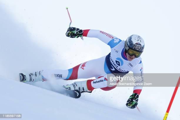 Wendy Holdener of Switzerland in action during the Audi FIS Alpine Ski World Cup Women's Giant Slalom on November 30 2019 in Killington USA