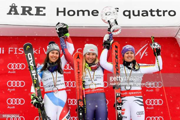 Wendy Holdener of Switzerland takes 2nd place in the overall standings Mikaela Shiffrin of USA wins the globe in the overall standings Viktoria...