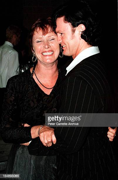 Wendy Hughes and Craig McLachlan after rehearsals for the stage production of 'Happy Days The Arena Mega Musical' at the Sydney SuperDome on October...