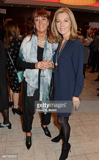 Wendy Laister and Mary Nightingale attend The 59th Women of the Year Lunch at the InterContinental Park Lane Hotel on October 13 2014 in London...