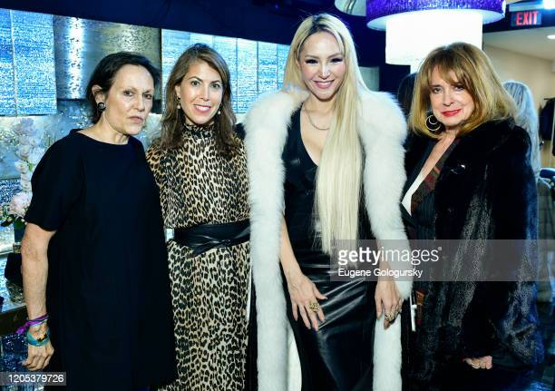 Wendy Landau Joan Jedell Lillian Gorbachincky and guest attend the Andrea Bocelli Foundation Lillian Gorbachincky Present First Annual Luncheon at AD...