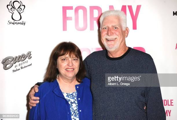 Wendy Leviton and Neal Leviton arrive for a luncheon in honor of Mother's Day for the release of Pamela L Newton's 'A Candle For My Mother' held at...