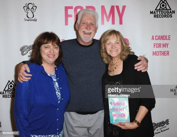 Wendy Leviton Neal Leviton and Pamela L Newton arrive for a luncheon in honor of Mother's Day for the release of Pamela L Newton's 'A Candle For My...