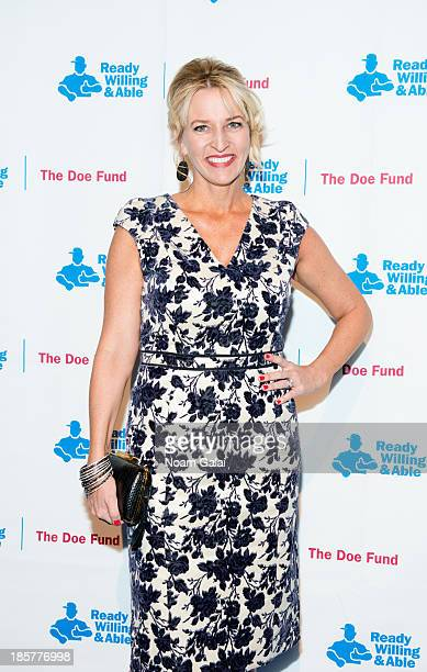 Wendy Madden attends the 2013 Doe Fund gala at Cipriani 42nd Street on October 24, 2013 in New York City.