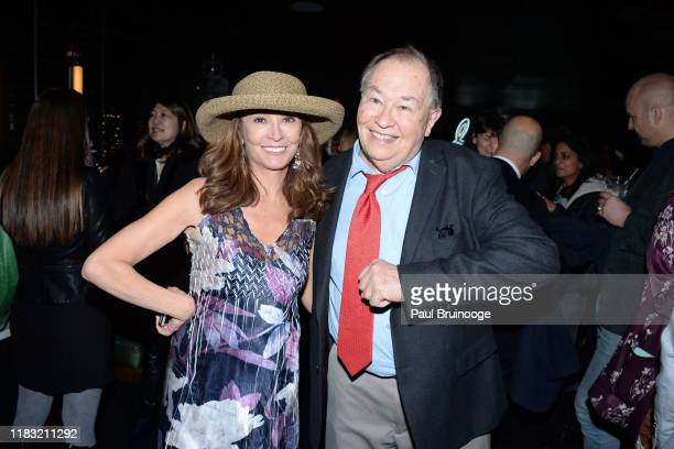 Wendy Makkena and David Newell attend New York Special Screening Of A Beautiful Day In The Neighborhood After Party at Le District Restaurant on...