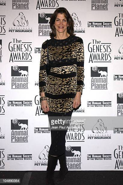 Wendy Malick during The 17th Annual Genesis Awards Pressroom at The Beverly Hilton in Beverly Hills California United States