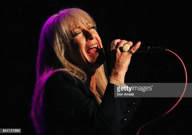 Wendy Matthews performs at Enmore Theatre on September 8 2017 in Sydney Australia