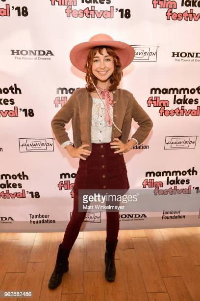 Wendy Mccolm attends the 2018 Mammoth Lakes Film Festival on May 25 2018 in Mammoth Lakes California