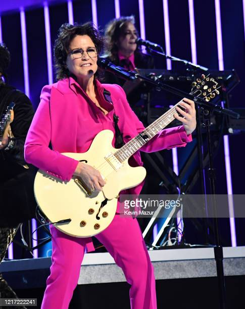 Wendy Melvoin and Lisa Coleman perform onstage during the 62nd Annual GRAMMY Awards Let's Go Crazy The GRAMMY Salute To Prince on January 28 2020 in...