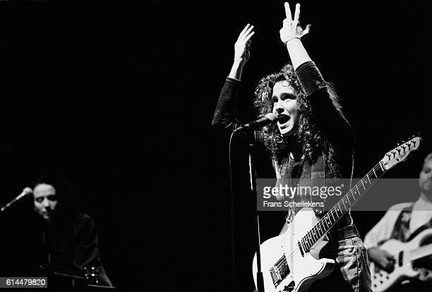 Wendy Melvoin, vocals and guitar, performs with Wendy & Lisa at Carré on November 11th 1990 in Amsterdam, Netherlands