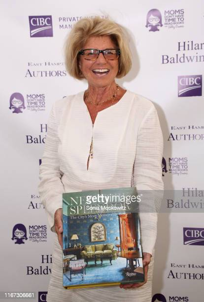 Wendy Moonan at the East Hampton Library's 15th Annual Authors Night Benefit on August 10 2019 in Amagansett New York