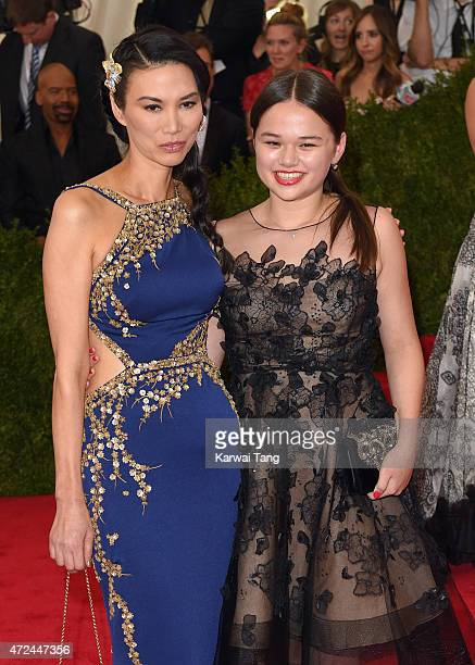 Wendy Murdoch and Grace Murdoch attend the China Through The Looking Glass Costume Institute Benefit Gala at Metropolitan Museum of Art on May 4 2015...