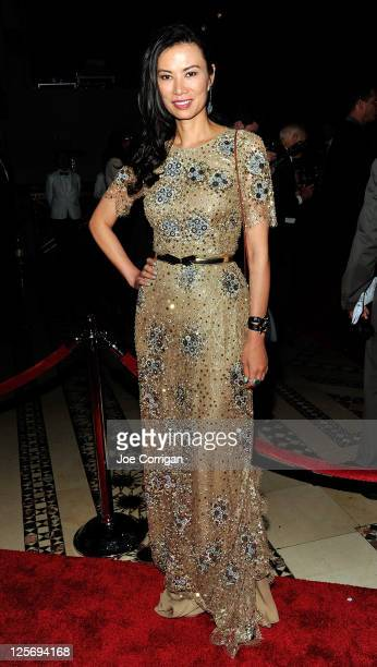 Wendy Murdoch attends the 2011 New Yorkers for Children Fall Gala at Cipriani 42nd Street on September 20 2011 in New York City