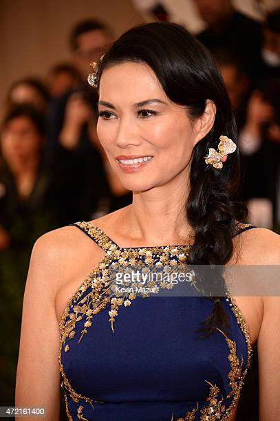 Wendy Murdoch attends the 'China Through The Looking Glass' Costume Institute Benefit Gala at Metropolitan Museum of Art on May 4 2015 in New York...