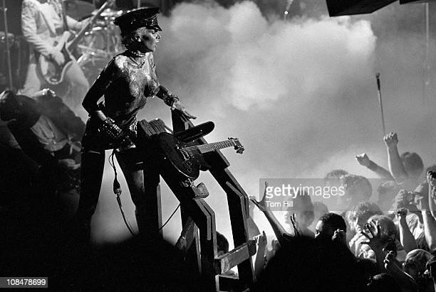 Wendy O Williams of the Plasmatics