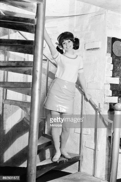 Wendy Padbury actress 19 is currently a member of Brian Rix's company of actors performing various farces at the Garrick Theatre in London pictured...