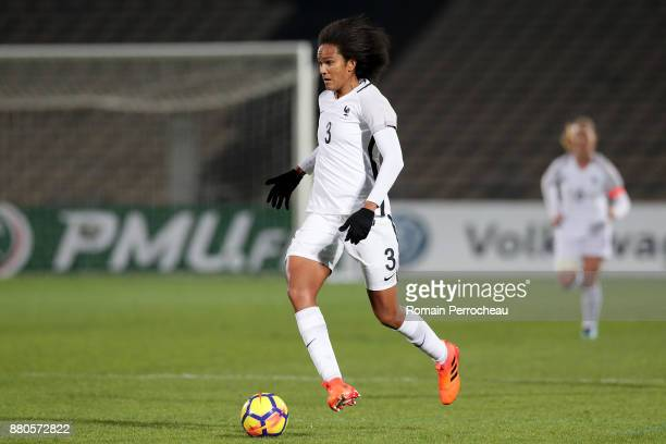 Wendy Renard of France in action during a Women's International Friendly match between France and Sweden at Stade ChabanDelmas on November 27 2017 in...