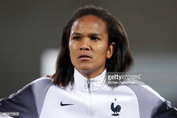 Wendy Renard of France looks on before a Women's International Friendly match between France and Sweden at Stade ChabanDelmas on November 27 2017 in...