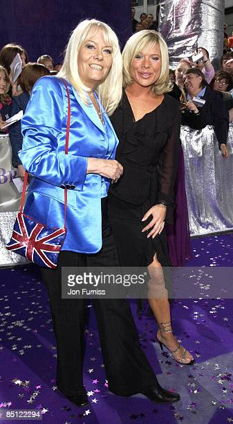 Wendy Richard and Letitia Dean from Eastenders
