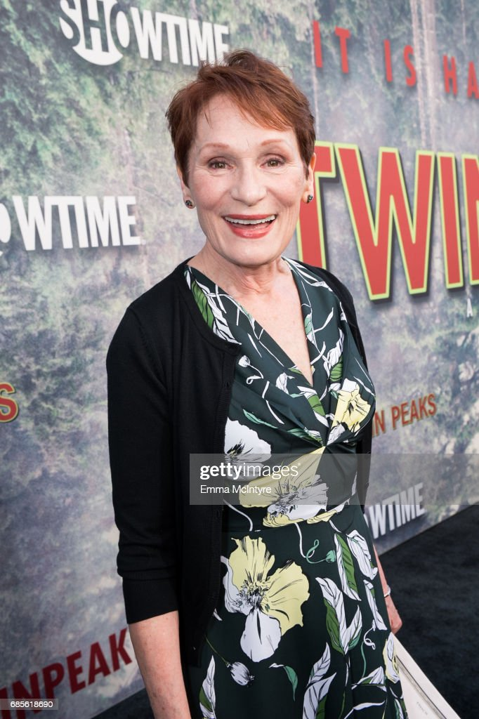 Wendy Robie attends the premiere of Showtime's 'Twin Peaks' at Ace Hotel on May 19, 2017 in Los Angeles, California.