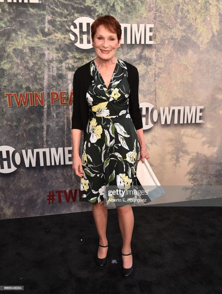 Wendy Robie attends the premiere of Showtime's 'Twin Peaks' at The Theatre at Ace Hotel on May 19, 2017 in Los Angeles, California.