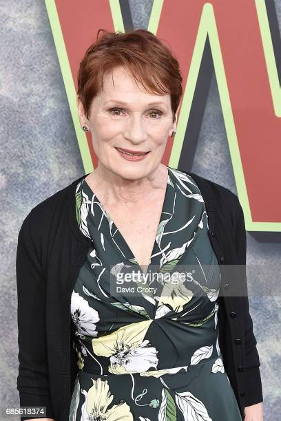 """Wendy Robie attends the World Premiere Of Showtime's """"Twin Peaks"""" at The Theatre at Ace Hotel on May 19, 2017 in Los Angeles, California."""