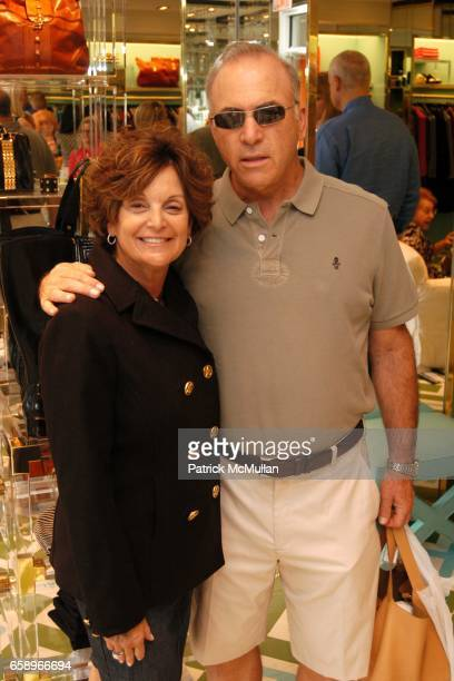 Wendy Roth and Jeff roth attend Charity event for Best Buddies with The Turks Caicos Sporting Clubre at Tory Burch Store on August 22 2009 in East...
