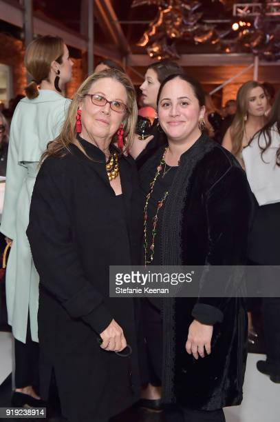 Wendy Stark and Allison Gorsuch attend Mr Chow 50 Years on February 16 2018 in Vernon California
