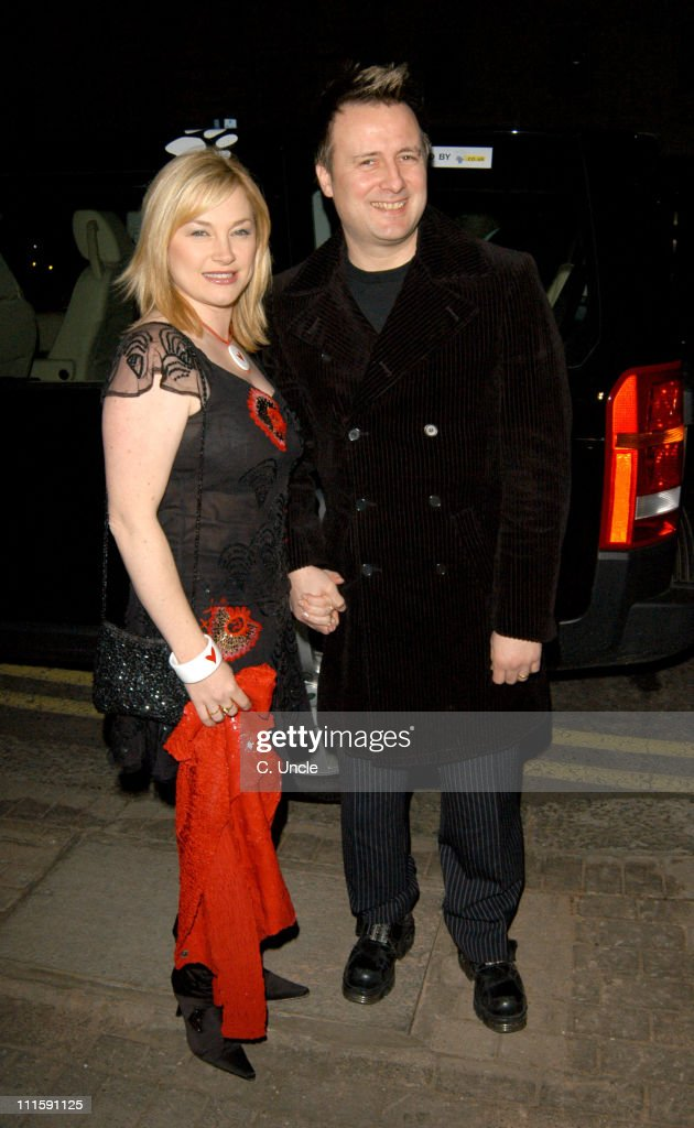 Wendy Turner and Gary Webster during Born Free Foundation Celebrity Private View and Cocktail Party at 21 in London, Great Britain.