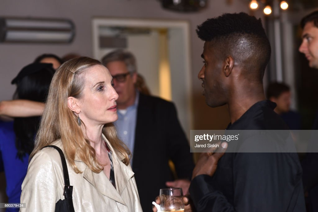 Wendy Whelan and Lloyd Knight attend Joshua Beamish + MOVETHECOMPANY Premieres 'Saudade' in NYC at Brooklyn Academy of Music on October 11, 2017 in New York City.