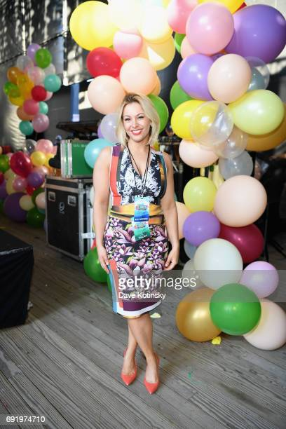 Wendy Wild poses backstage at 103.5 KTU's KTUphoria 2017 presented by AT&T at Northwell Health at Jones Beach Theater on June 3, 2017 in Wantagh, New...