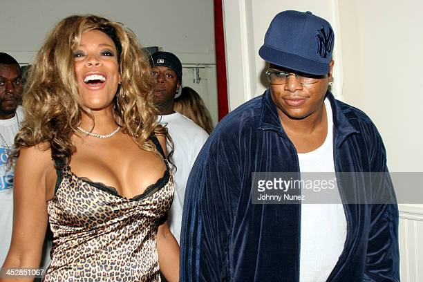 Wendy Williams and Husband during The House Of Courvoisier Hosts The America Magazine Party September 14 2005 at New York in New York City New York...