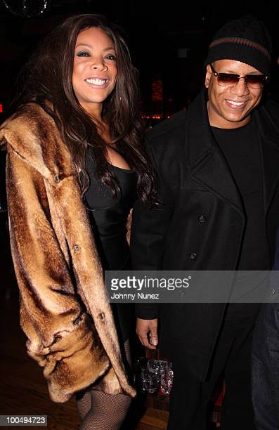 Wendy Williams and husband Kevin Hunter attend Sari Baez's Birthday celebration at Marquee on November 30 2009 in New York City