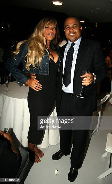 Wendy Williams and Irv Gotti during Irv 'Gotti' Lorenzo Celebrates his New Venture with Universal Motown Records Group Yacht Party at Riginger's...