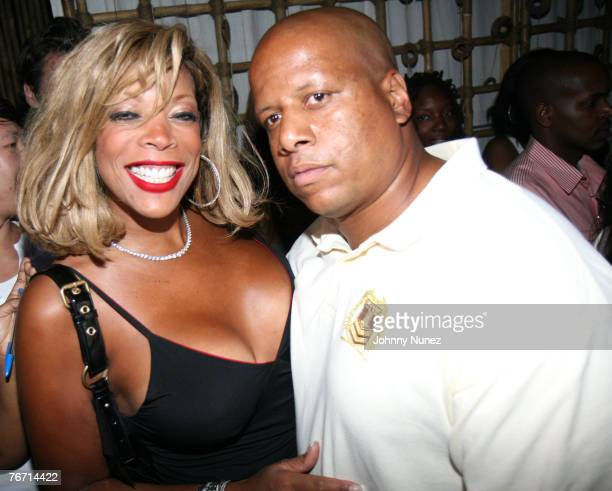 Wendy Williams and Kevin Hunter attend the Rebirth of Hip Hop hosted by Sean Diddy Combs and Russell Simmons on September 12 2007 in New York City...