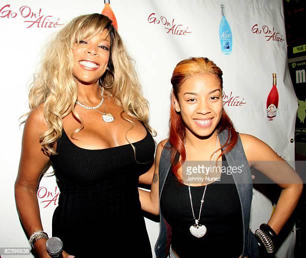 Wendy Williams and Keyshia Cole