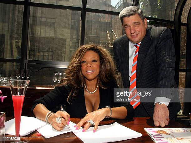Wendy Williams and Kobrand president Charles Palombini